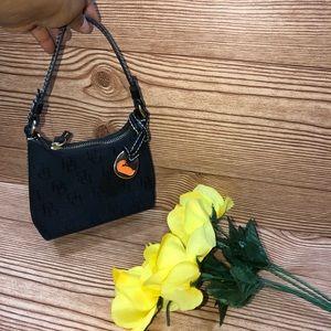 Dooney & Bourke Mini Black Monogram Bag